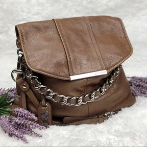 B. Makowsky | Corey Leather Hobo Bag